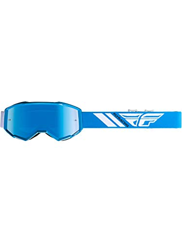 Fly Racing 2019 Zone Goggles (Blue/Blue Mirror Lens)