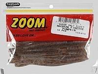 Zoom Magnum Finesse Worm Bait, Pumpkin, ()