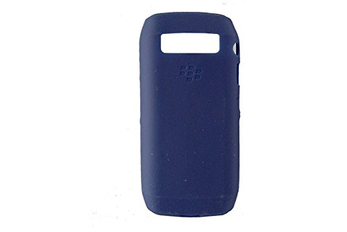 Genuine Blackberry Phone Skin (GENUINE BLACKBERRY SILICONE SKIN CASE COVER FOR BLACKBERRY 9100 PEARL 3G - BLUE)