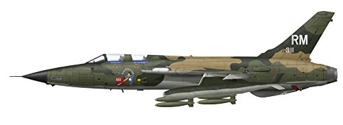 Posterazzi Republic F-105F Thunderchief Bomber of The 354th Squadron 355th Tactical Fighter Wing at Takhli Royal Thai Air Force Base in 1970 Poster Print (47 x 17)