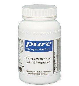 Pure Encapsulations - curcumine 500 Avec Bioperine 120 VegiCaps