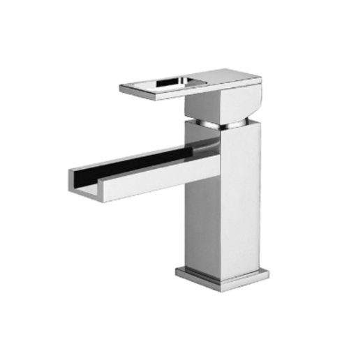 Isenberg 160.1000CFCP Serie 160 Single Hole Cascade Flow Faucet, 160.1000CF, Polished Chrome - Cascade Series Single