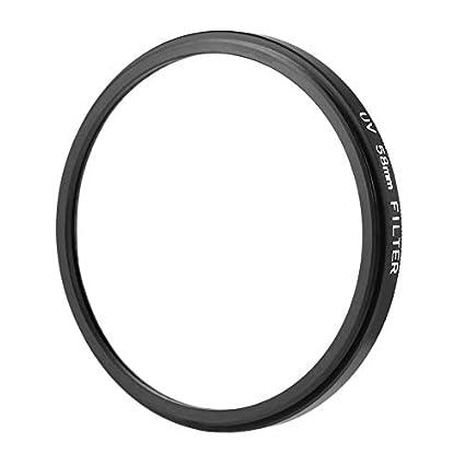 ankunlunbai - Filtro de Objetivo para cámara réflex Digital (58 mm ...