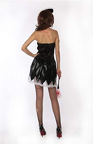 Halloween Uniforme Fascia Partito Vestito Di A Costume Da Donna Olydmsky Costumi 4xpIZqqO