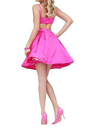 2018 Satin Homecoming Graduation Dark Green Short Dress CCBubble Dresses Homecoming wqBO1Ha