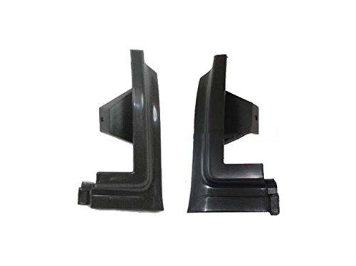 Bundle 94-99 Chevy/gmc Suburban / Yukon Front Bumper Filler Extension Set=lh & Rh