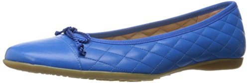 French Sole Fs / Ny Womens Passport Ballet Flat Ocean Blue