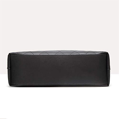 Solo Bolsa Juegos Hombro Jtsyhseñora Madre Dos Bolso De La Black Pu Cubo black Cuero r0FFwdxqnz
