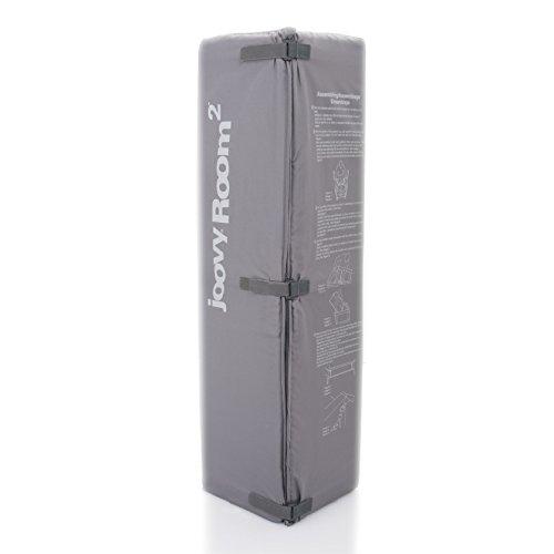 JOOVY New Room2 Portable Playard, Charcoal