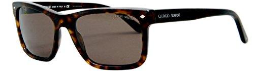 Giorgio Armani Frames of Life Rectangle Sunglasses in Dark Havana AR8028 500253 - Armani Of Life Glasses Giorgio Frames