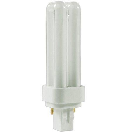 (Pack of 10) PLD-13W 835, 13-Watt Double Tube Compact Fluorescent Light Bulb, 2-Pin GX23-2 Base, 3500K