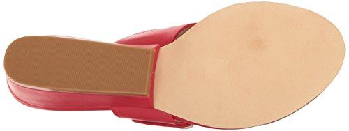 Calvin Klein Womens Carlie Wedge Sandal Lipstick Red 8LPeJ7Xj