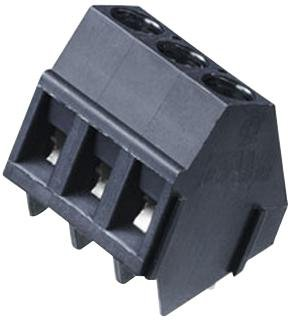 12 AWG 3 Positions 1.5 mm? 24 AWG Screw Wire-to-Board Terminal Block WEIDMULLER 1715300000 5 mm