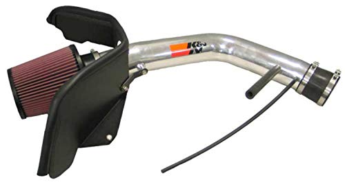 K&N Cold Air Intake Kit with Washable Air Filter:  2002-2005 Chevy/GMC/Oldsmobile (Trailblazer, Envoy, Bravada) 4.2L L6, Polished Metal Finish with Red Oiled Filter, 77-3036KP (Air Intake For 2003 Trailblazer)