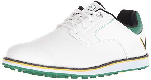 Callaway Men's LaJolla SL Golf Shoe White/Green 10.5 M US