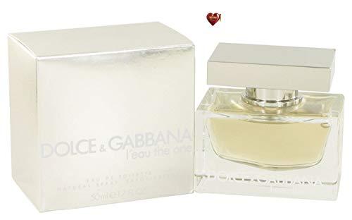 Dolcë & Gabbäna L'eau The One Perfume For Women 1.7 oz Eau De Toilette Spray Free! SN 0.04 oz