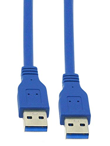Storite® USB 3.0 Type A Male to Type A Male Cable for Data Transfer Hard Drive Enclosures, Printer, Modem, Cameras Print