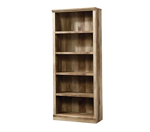 Sаudеr 5 Shelf Bookcase, L: 29.29 x W: 13.39 x H: 71.02 Craftsman Oak -