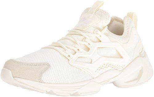 Reebok Women Fury Adapt Fashion Sneaker Cream White/White