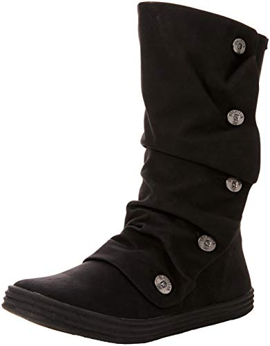 Texas Blowfish Nero Black 020 Rammish Pu Donna Stivali xax7qO