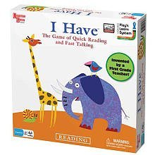 I Have Board Game by University Games    Play'n Learn System for Social Skills, Coordination, and Language  No Reading Required Preschool Game   For Ages 3 Years and Up