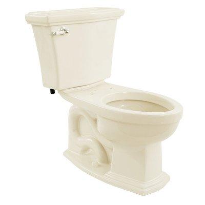 Clayton 1.6 GPF Elongated 2 Piece Toilet Toilet Finish: Sedona Beige