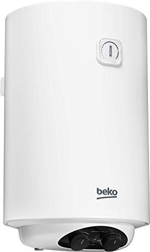 Beko BWH100EUC - Termo electrico / calentador, 100 litros, 2000 W, color blanco