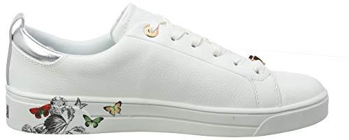 Narnia ted white Wht Sneaker Baker Mispir Tedah Donna SqaY1T
