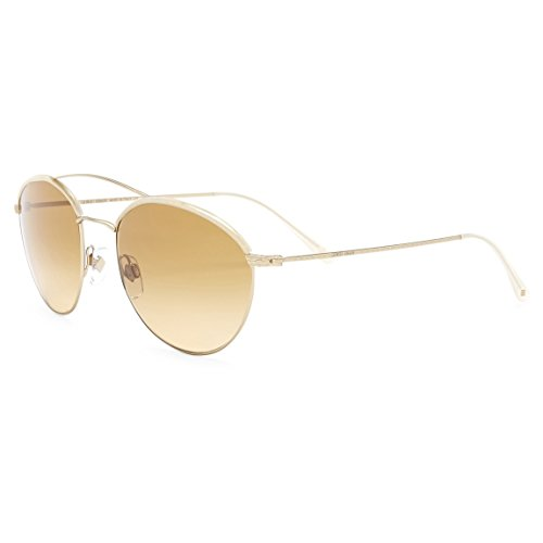 Giorgio Armani - FRAMES OF LIFE AR 6032J, Round, steel, women, CREAM/BROWN YELLOW SHADED(3124/2L), 55/18/140