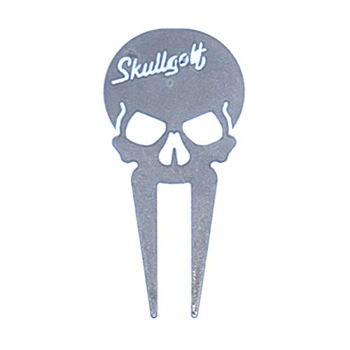 Skullgolf Divot Repair Tool from Stainless Steel Precise Laser Cut with Custom Look and Feel