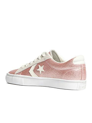 Lacci Donna Rosa Glitter Scarpe 560968c Converse Pelle Pink Sneakers EwXYgRPq