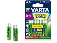Varta Toy Ready2Use Rechargeable Mignon Ni-Mh AA Batteries 2