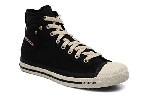 Mens Aimants Haut Chaussures Sport Noir Exposition De Diesel F6OPH8