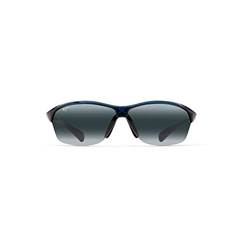 Maui Jim Hot Sands 426-03 | Sunglasses, Blue, with with Patented PolarizedPlus2 Lens ()