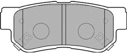 Bremsbel/äge Set Hinten Delphi Bremsscheiben /Ø284Mm