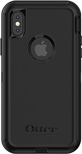 OtterBox Defender Series Case for iPhone X & iPhone Xs (ONLY), Case Only – Bulk Packaging – Black