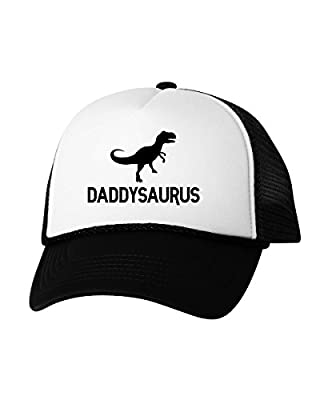 Vizor Daddysaurus Trucker Hat Dinosaur Dad Hat Funny Father's Day Gifts for Men