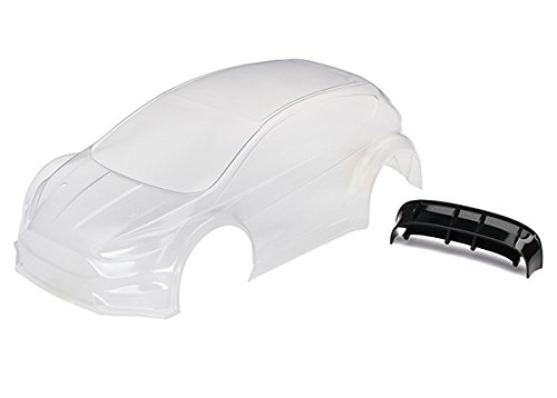 Traxxas TRA7412 Body, Ford Fiesta� ST Rally (Clear, Requires Painting)