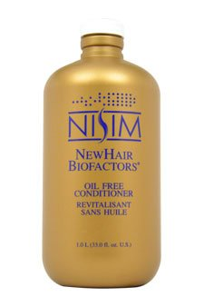 Oil Free Conditioner for Hair Loss by Nisim for Unisex - 33 oz Conditioner by Nisim