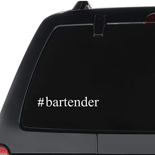 Eddany Bartender Hashtag Pack of 3 Vinyl Decal ()