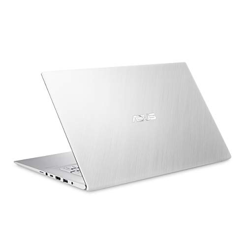 """ASUS VivoBook S17 S712 Thin and Light 17.3"""" FHD, Intel Core i7-10510U CPU, 8GB DDR4 RAM, 256GB PCIe NVMe SSD + 1TB HDD, Windows 10 Home, S712FA-DS76, Transparent Silver"""