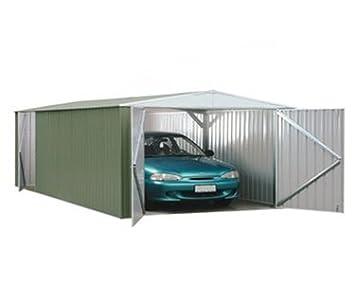 Taller 3 m x 6 m carcagor Metal galpón palida haitiano, garaje, cobertizo, almacenamiento