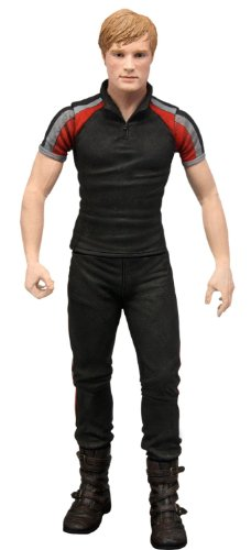 The Hunger Games Movie Peeta in Training Day Outfit  7 inch Action -