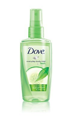 Dove Body Mist Cucumber and Green Tea Scent - 3 Oz (B002UFX5YG)