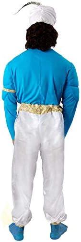 ORION COSTUMES Disfraz de Genio Azul de Película para Hombres ...