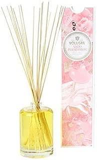 product image for Voluspa Fragrant Oil Embossed Diffuser, Saijo Persimmon, 6 oz