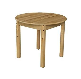 Good Wood Designs WD83024 Childu0027s Table, 30u0026quot; Round ...