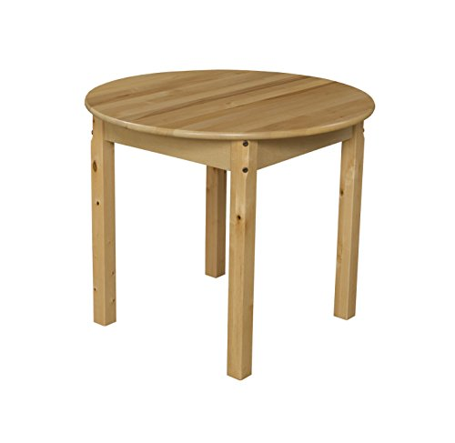 Wood Designs WD83024 Child's Table, 30″ Round with 24″ Legs