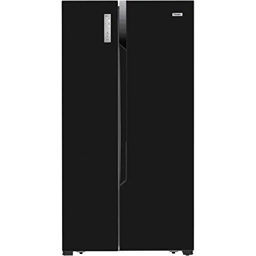 Fridgemaster MS91518FFB Black Side-by-side American Fridge Freezer