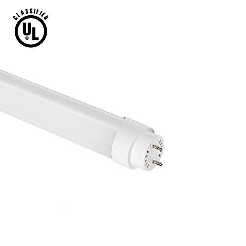 Lighting EVER Brightest 18 Watt 4 Foot T8 LED Tube Lights